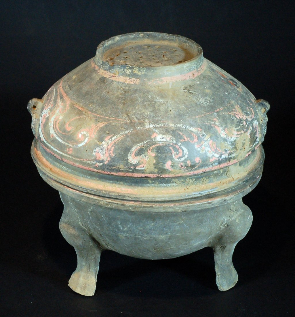 Han Dynasty Tripod Food Container