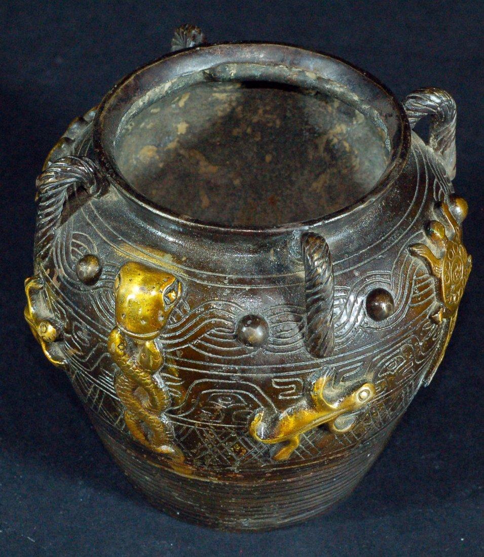 Chinese Old Bronze Jar