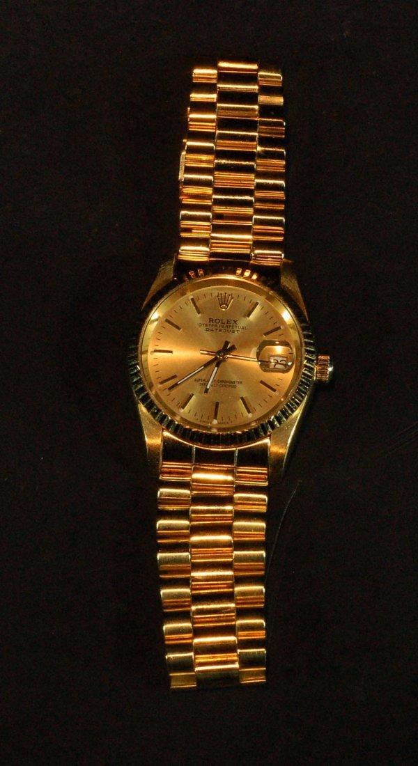 18K Rolex Watch