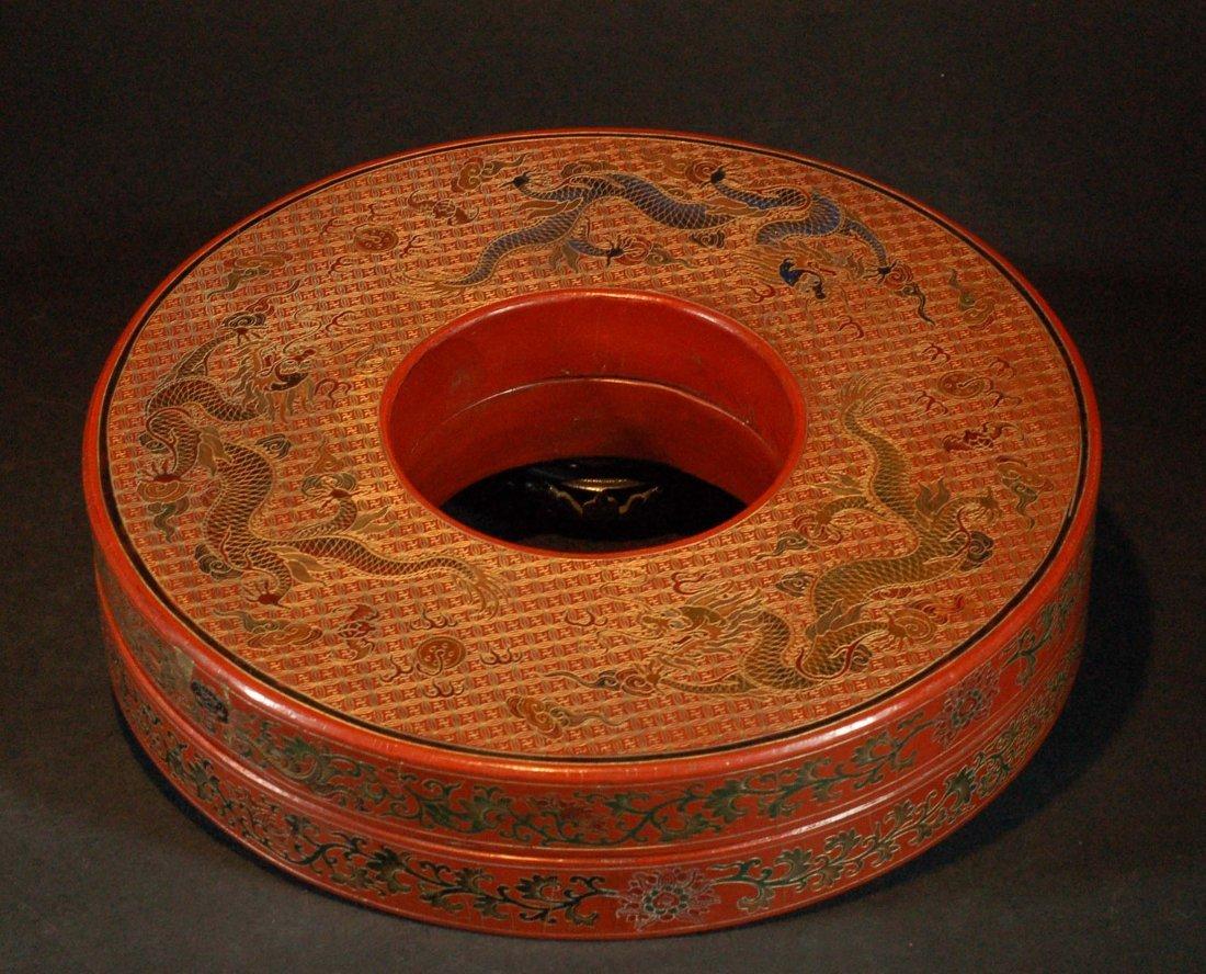 Antique Chinese Lacquer Box - Qianlong