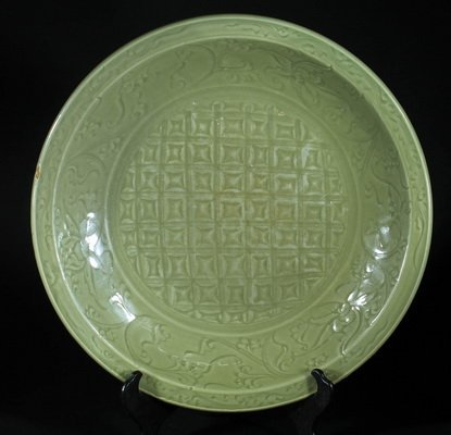 Antique Longquan Plate Qing Dynasty