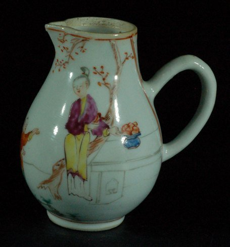 Chinese Famille Rose Milk Pot
