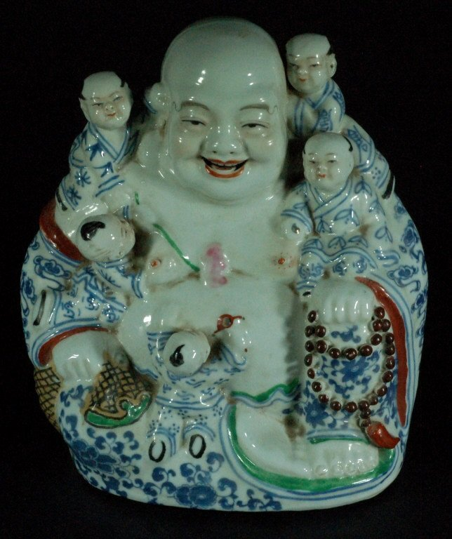 Old Chinese Porcelain Buddha