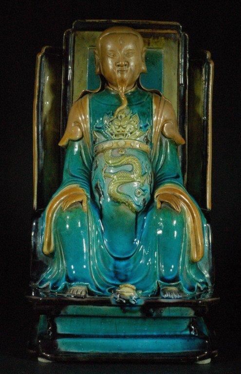 Very Rare Ming Dynasty Fahua  Statue