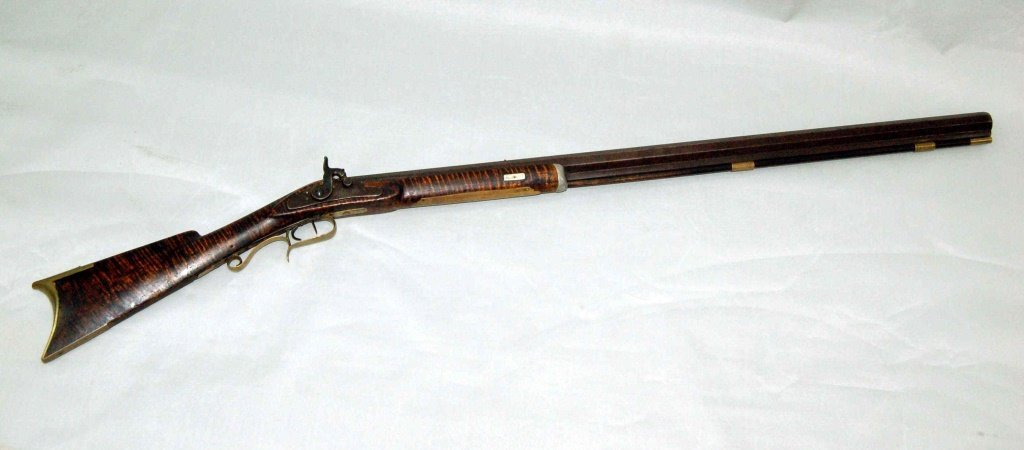 Antique Kentucky Style Percussion Rifle