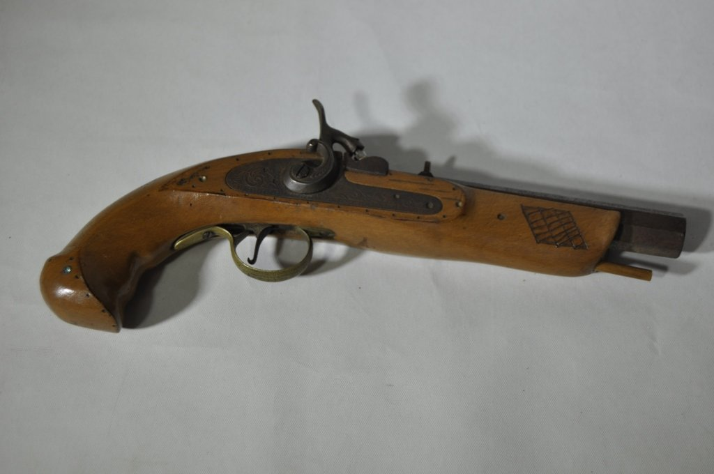 Antique Percussion Cap Pistol