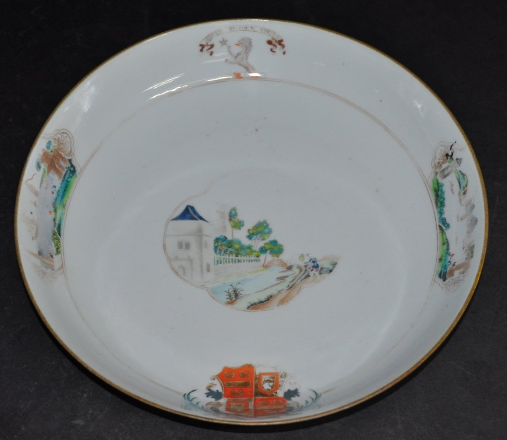 Chinese Armorial Porcelain Bowl