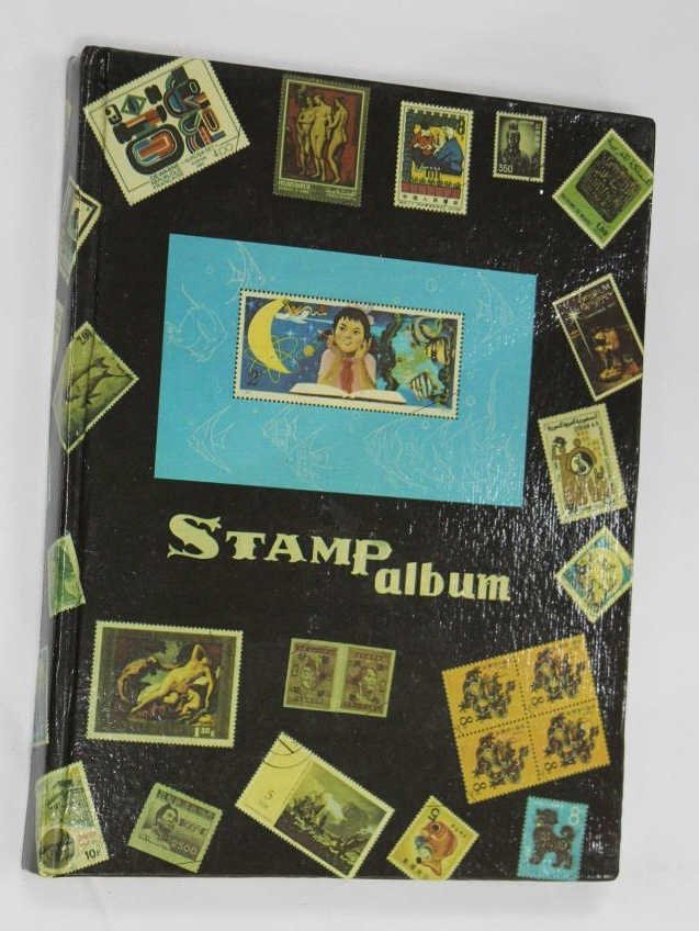 Stamp Album of Chinese Stamps