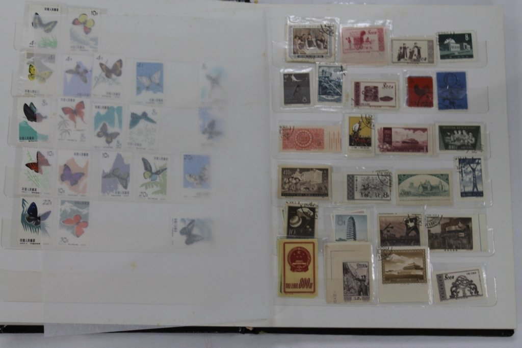 Stamp Album of Chinese Stamps - 3