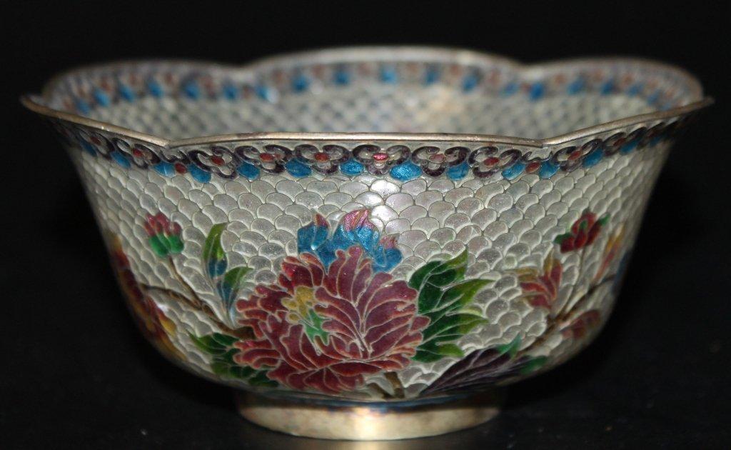 Plique-a-Jour Lidded Bowl