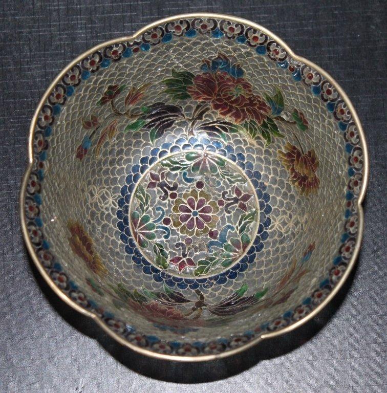 Plique-a-Jour Lidded Bowl - 2