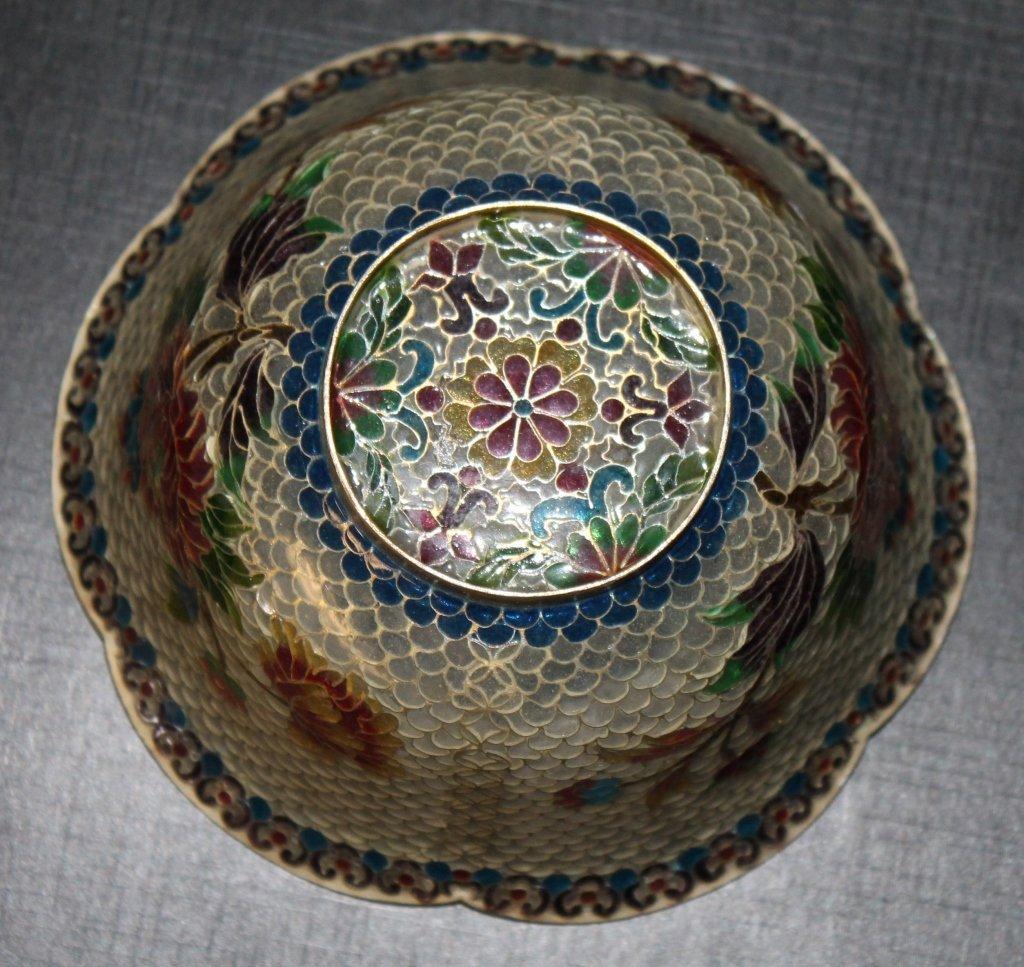 Plique-a-Jour Lidded Bowl - 3