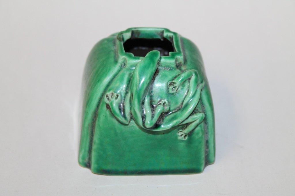 Chinese Glazed Porcelain Brushwasher