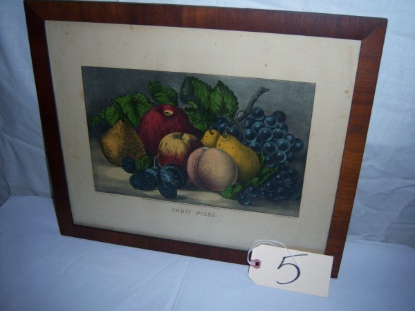 5: Fruit Piece Currier & Ives