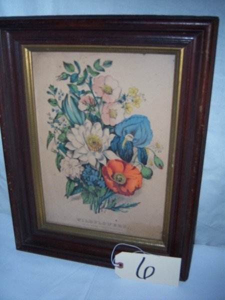 6: Wild flowers  Currier & Ives