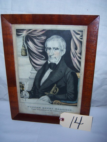 14: William Henry Harrison, 9th President of the US. by
