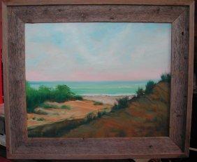 """Dolores Castrucci (20th-21st C.).  """"Peconic Dunes, L"""