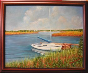 "9: JoAnn Corretti (20th-21st c.).  ""Orient, Long Island"