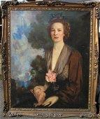 "Howard Chandler Christy (1873-1952).   ""Miss Catherine"