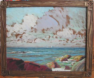 "Whitney M. Hubbard (1875-1965).  ""Sound Shore,"" c. 1915"