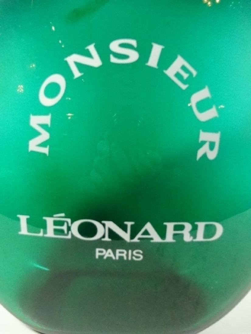 MONSIEUR LEONARD PARIS PERFUME FACTICE, GREEN, GLASS, - 2