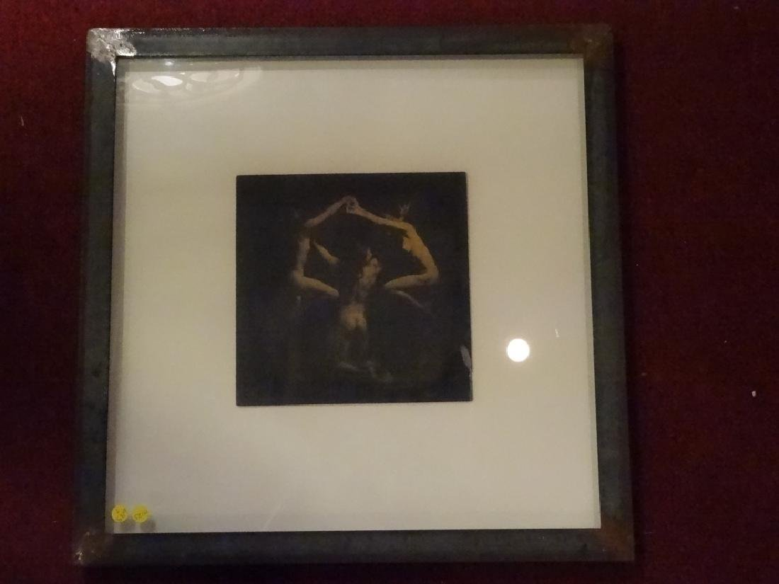 SIGNED PHOTOGRAPHIC PRINT, 3 NUDES, SIGNED LOWER RIGHT - 2