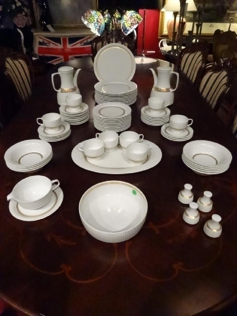 75 PC ROSENTHAL CHINA SERVICE, INCLUDES 12 PLATES, 12 - 2