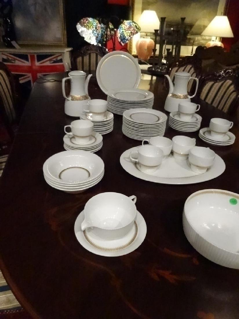 75 PC ROSENTHAL CHINA SERVICE, INCLUDES 12 PLATES, 12 - 3