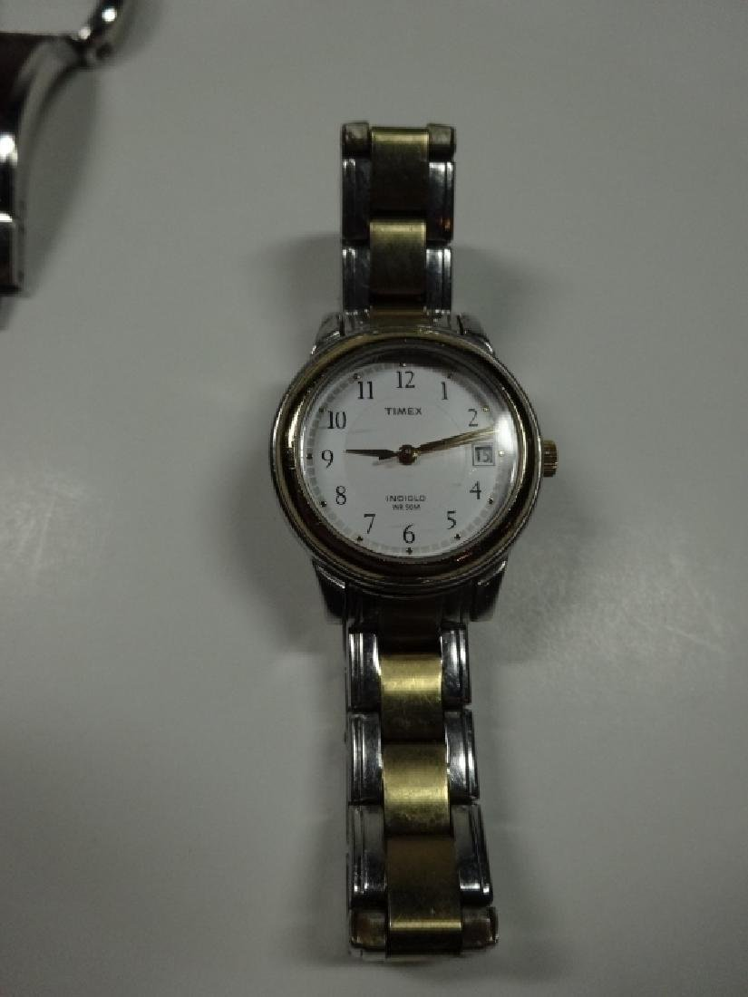 7 PC WOMEN'S WATCHES, INCLUDES NARMI, TIMEX, FOSSIL, - 3