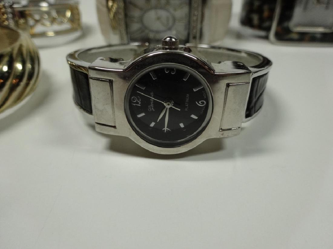 6 PC WOMEN'S WATCHES, CUFF STYLE, INCLUDES EIKON, - 3