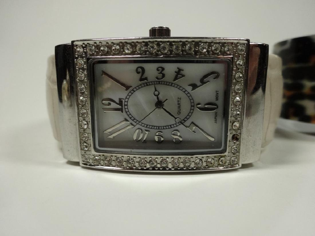 6 PC WOMEN'S WATCHES, CUFF STYLE, INCLUDES EIKON, - 6