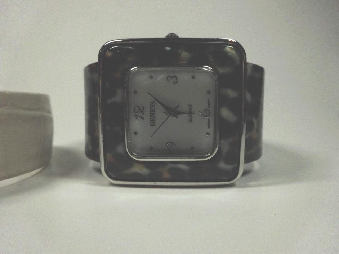 6 PC WOMEN'S WATCHES, CUFF STYLE, INCLUDES EIKON, - 7