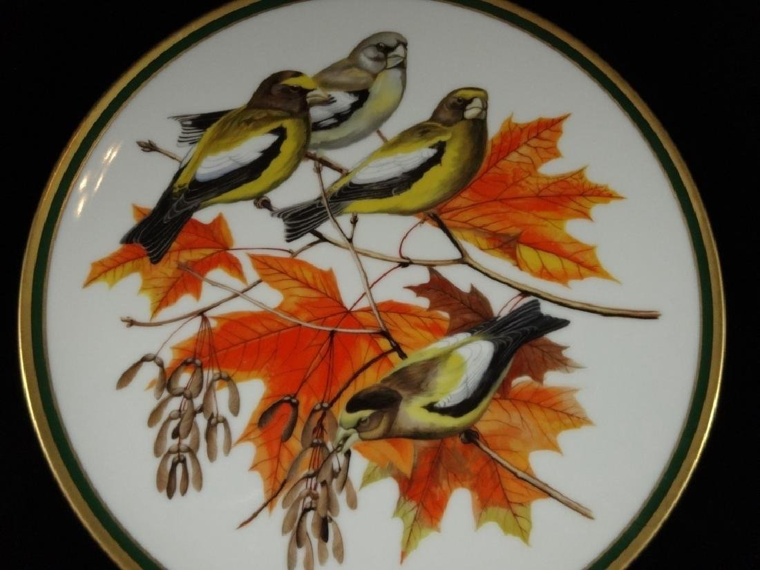 NATIONAL AUDUBON SOCIETY PORCELAIN PLATE, EVENING - 2