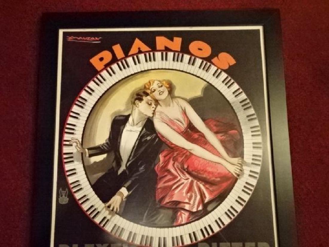 CASA AMERICA PIANOS REPLICA ADVERTISING PRINT, ORIGINAL - 3