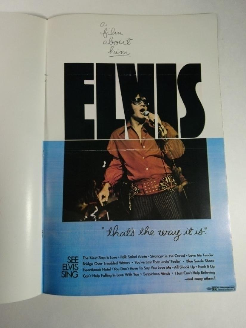 2 PC ELVIS POSTER BOOKS, INCLUDES VOLUME 1 AND NEW - 8
