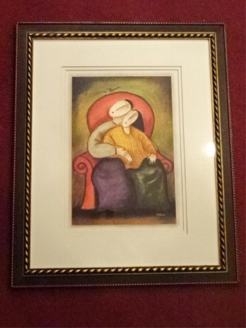 JAYMIKI SIGNED LIMITED EDITION GICLEE, DEPICTING A MAN - 4