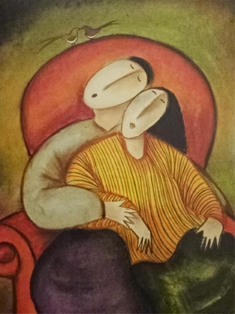 JAYMIKI SIGNED LIMITED EDITION GICLEE, DEPICTING A MAN - 6