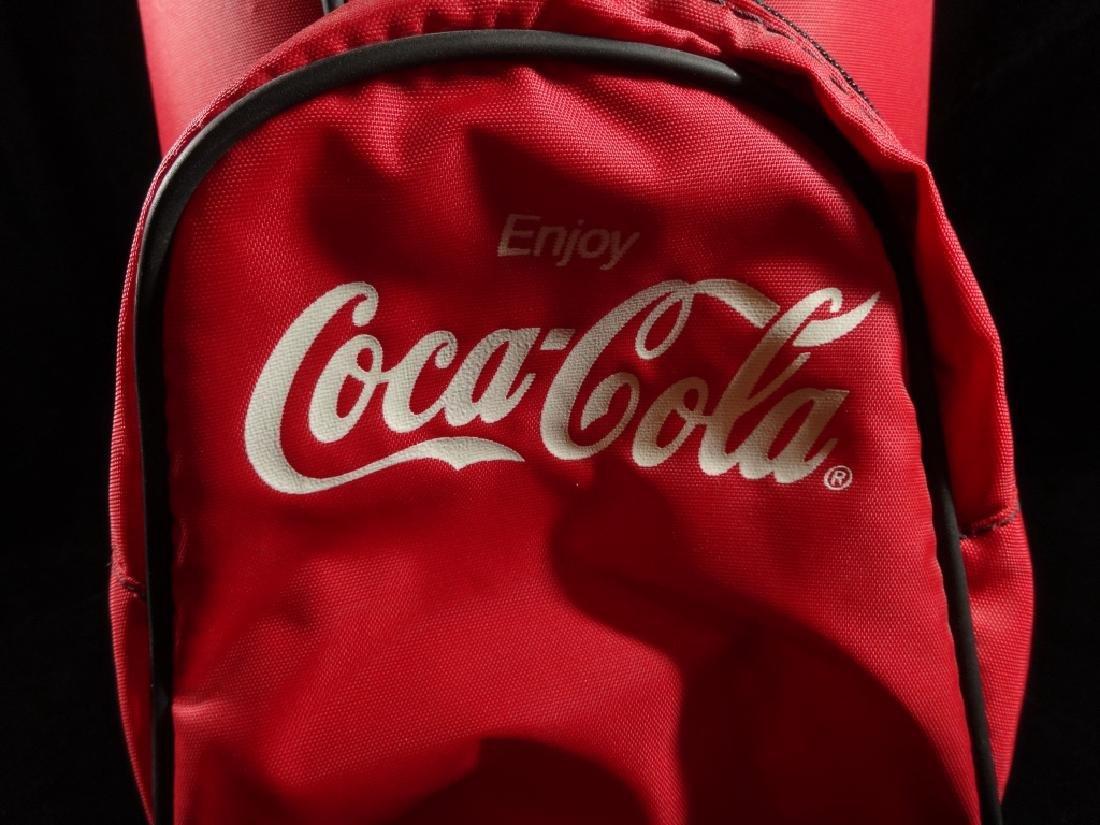 "COCA COLA PROMOTIONAL GOLF BAG COOLER, APPROX 20""H - 2"