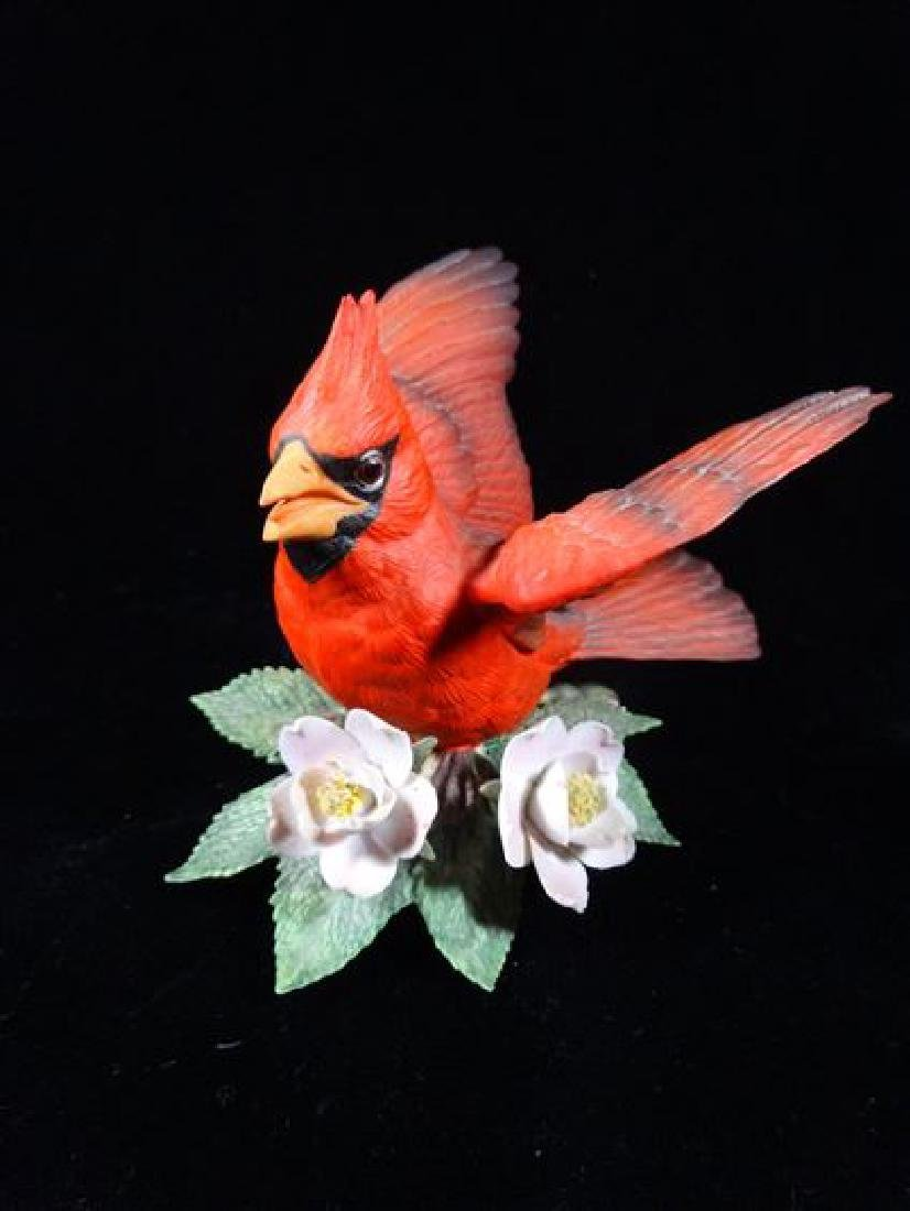 LENOX PORCELAIN CARDINAL, VERY GOOD CONDITION WITH NO - 2