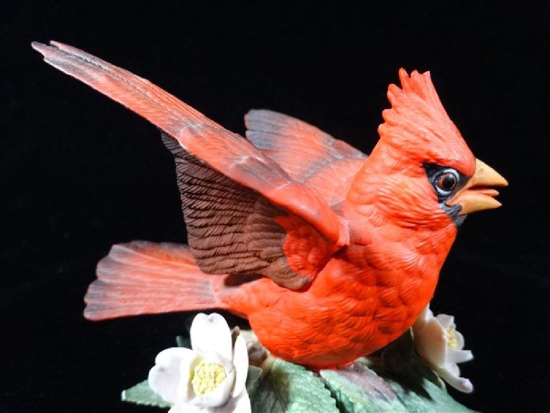 LENOX PORCELAIN CARDINAL, VERY GOOD CONDITION WITH NO - 3