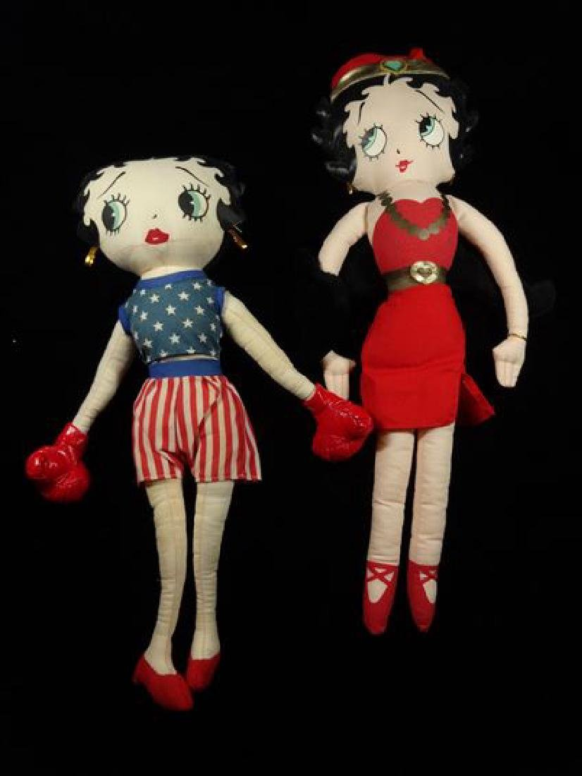 """2 BETTY BOOP DOLLS, 18""""H AND 16""""H, SKU5270.07"""