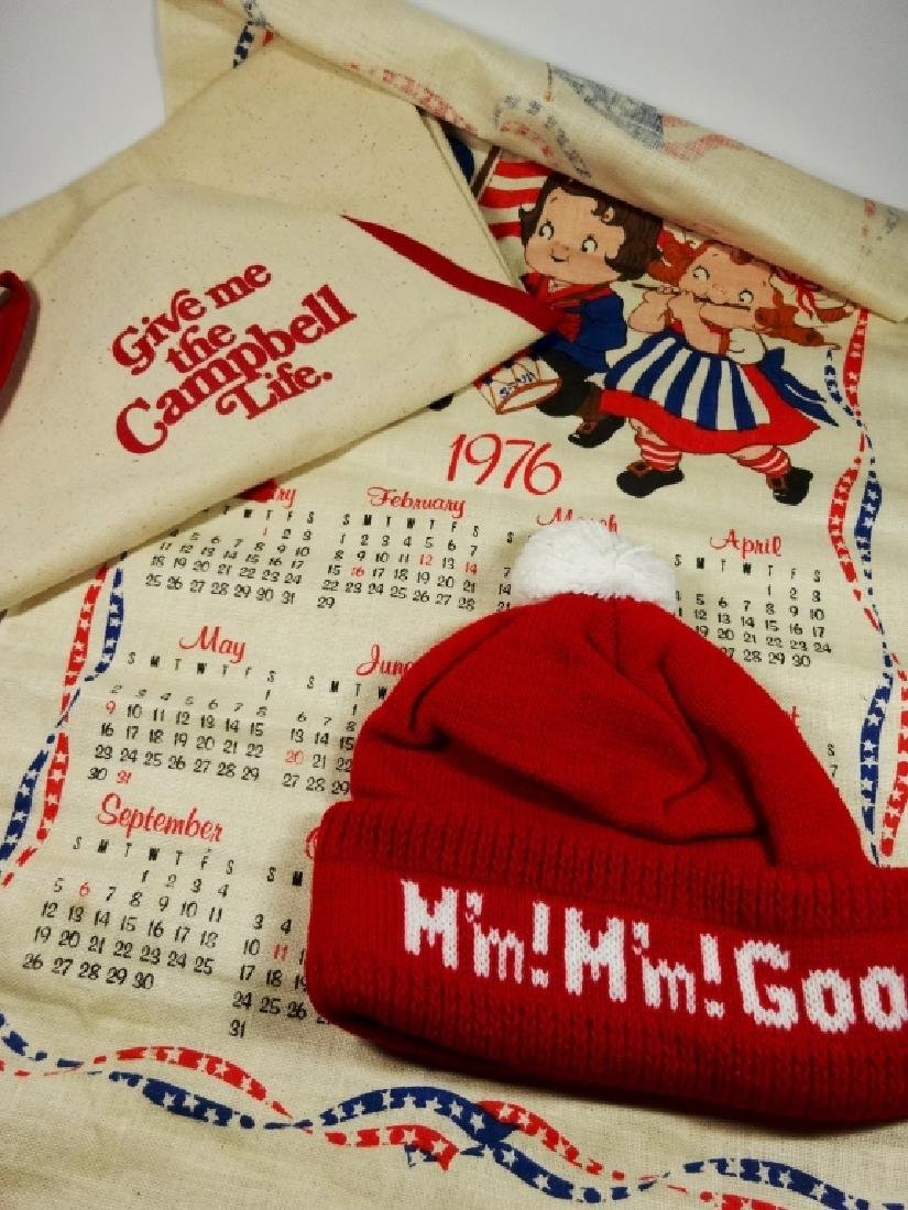 """3 PC CAMPBELL'S SOUP COLLECTIBLES, INCLUDES """"GIVE ME"""