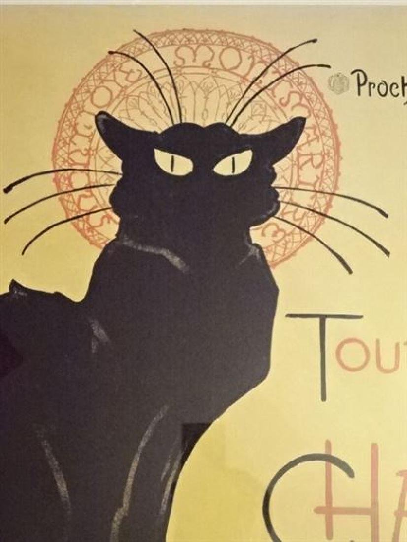 LE CHAT NOIR FRENCH ADVERTISING POSTER REPLICA, IN BACK - 2