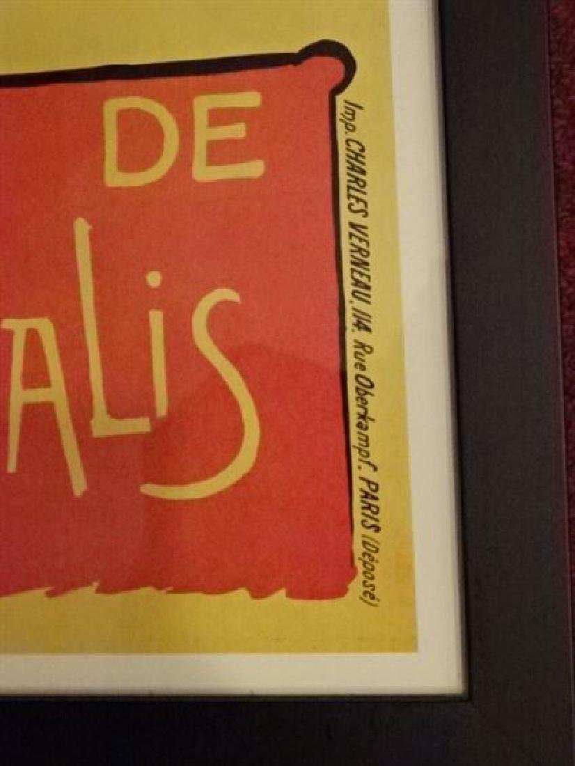 LE CHAT NOIR FRENCH ADVERTISING POSTER REPLICA, IN BACK - 4