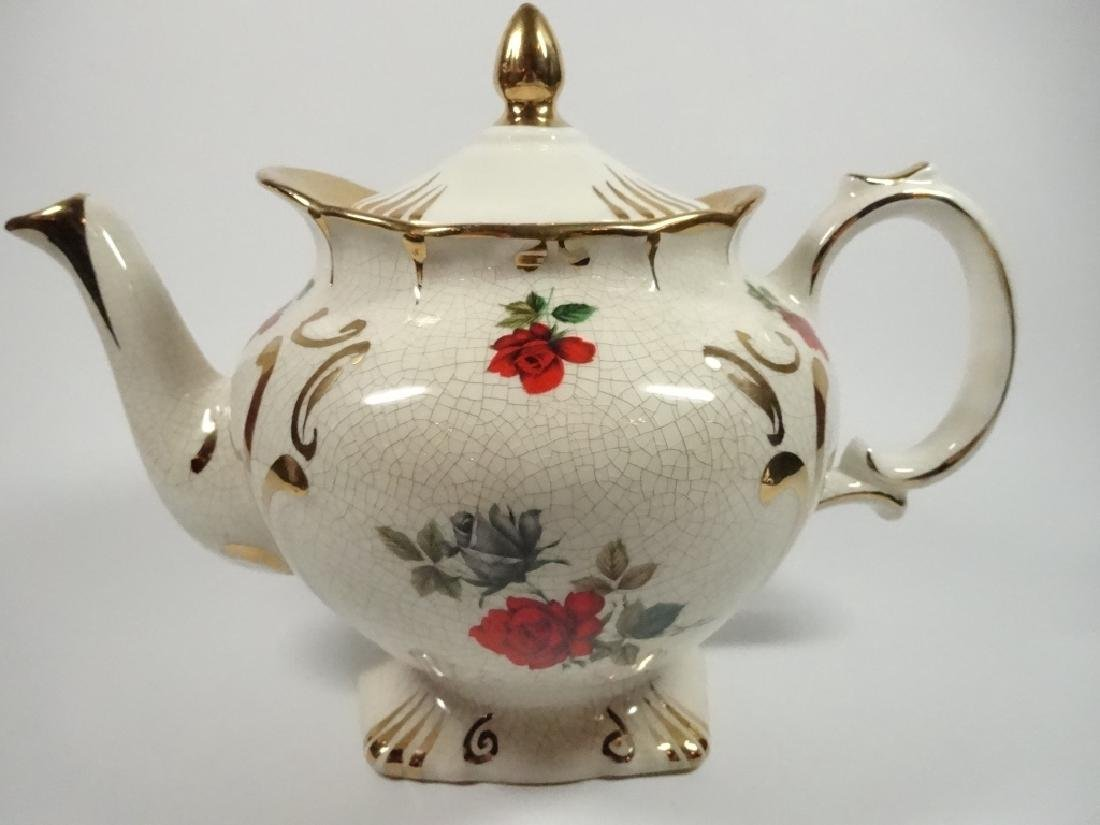 PRICE KENSINGTON PORCELAIN TEAPOT, ROSE DESIGN,