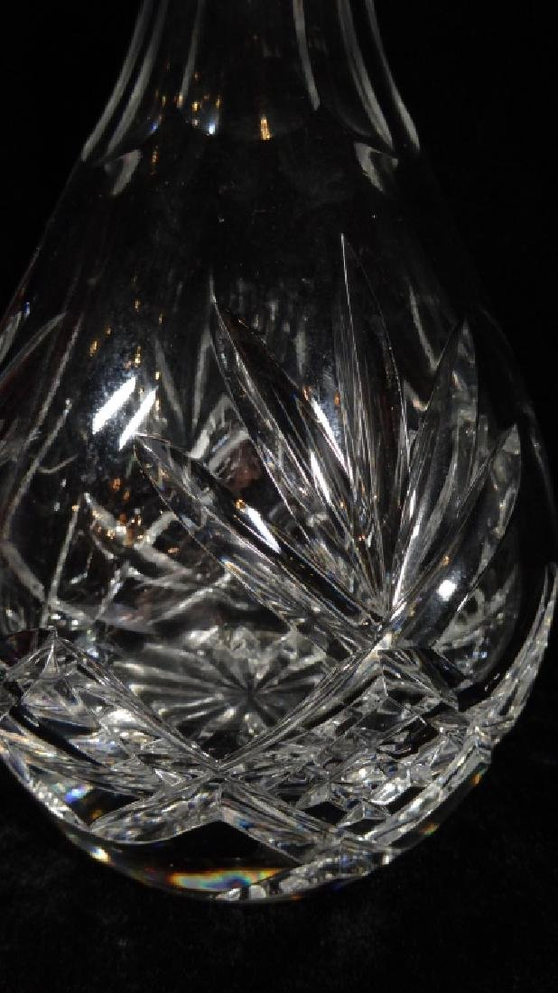 "TALL CRYSTAL DECANTER, APPROX 14""H, SKU317.17 - 3"