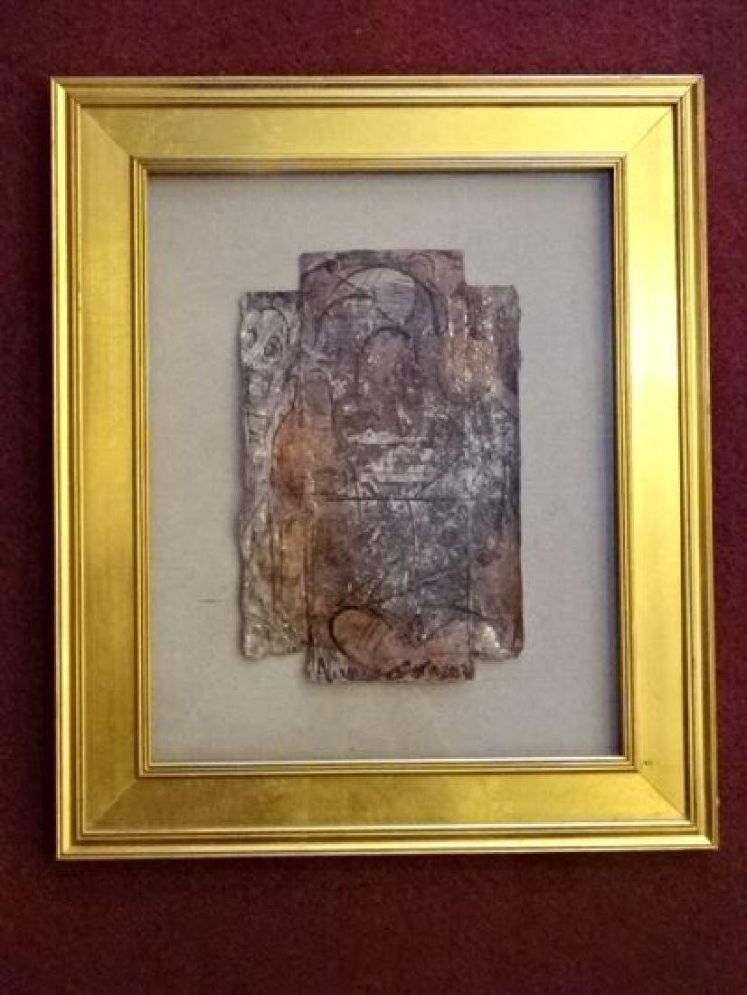 ALEXANDER GORE ABSTRACT OIL PAINTING, SIGNED LOWER
