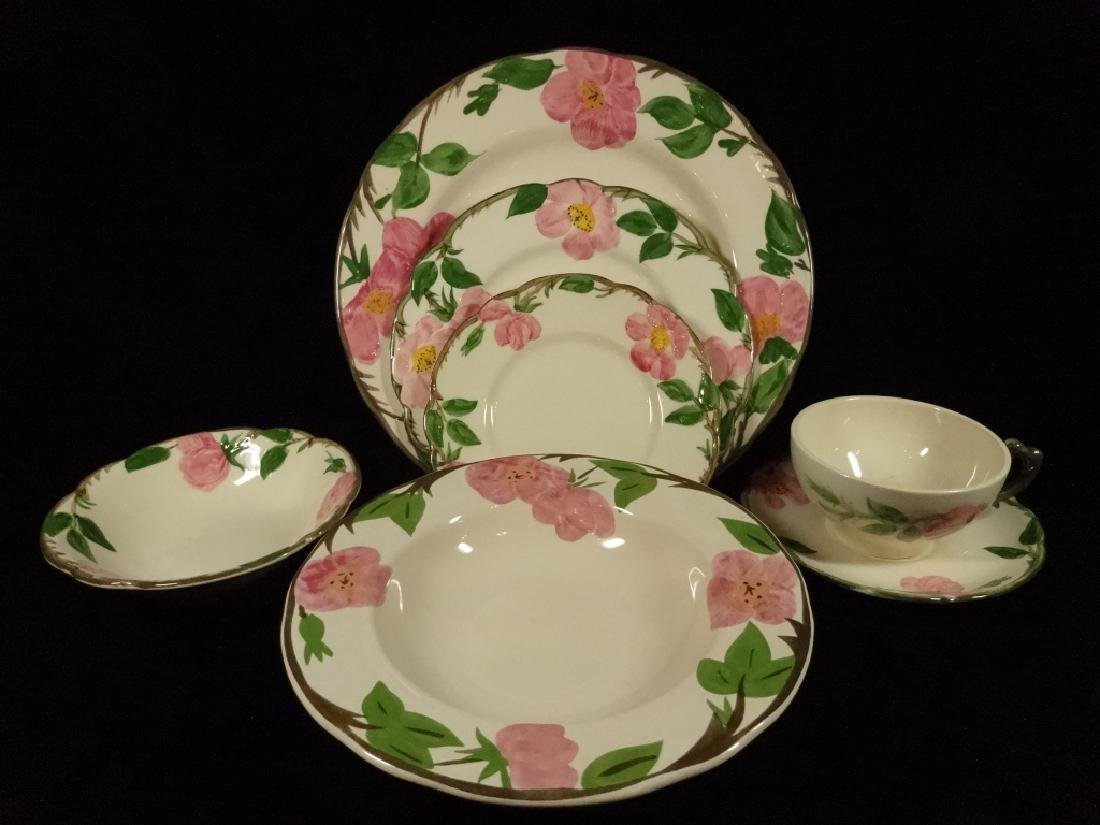 97 PC FRANCISCAN DESERT ROSE DINNER SERVICE, INCLUDES 8 - 2