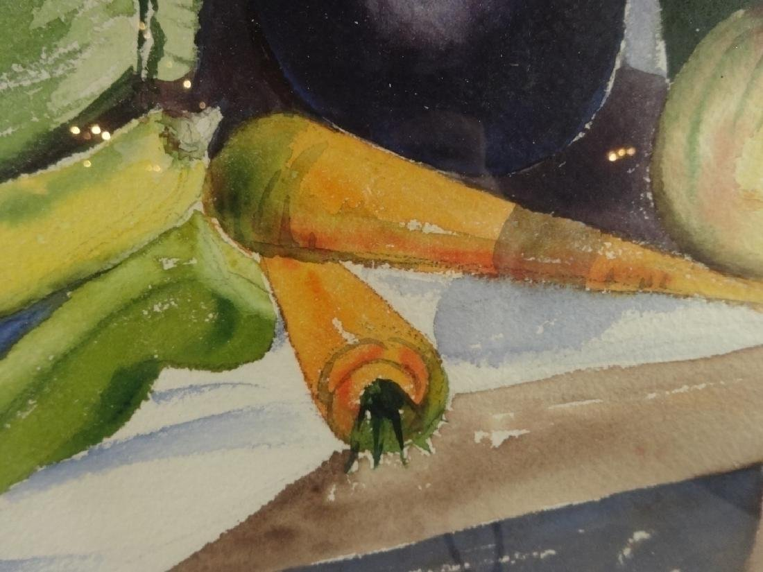 WATERCOLOR PAINTING ON PAPER, STILL LIFE WITH - 5