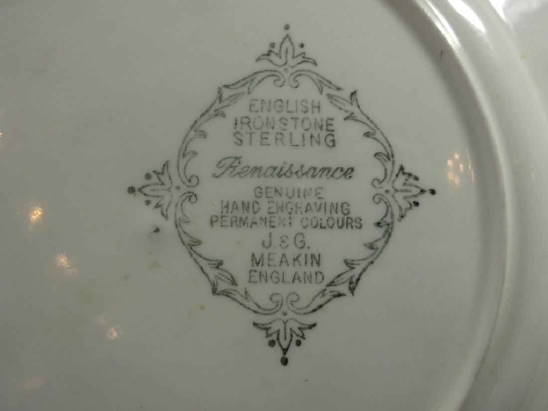 58 PC J & G MEAKIN ENGLAND IRONSTONE SERVICE, - 8